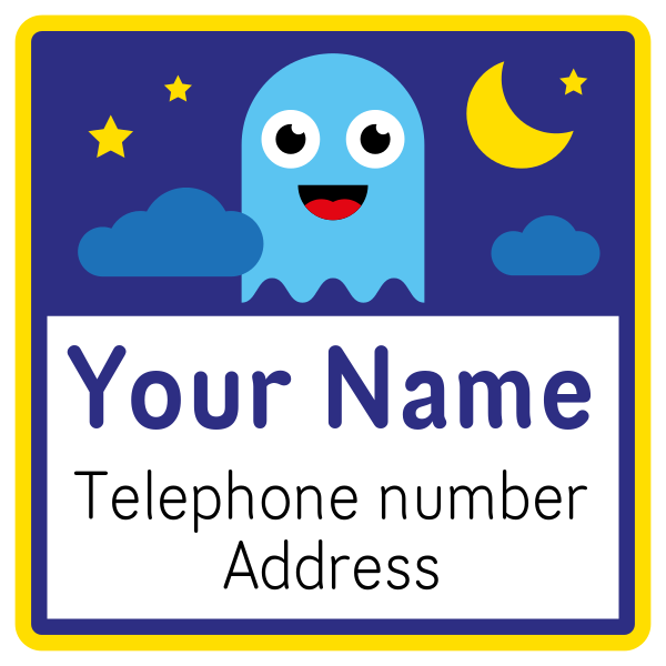 Square Contact Name Labels